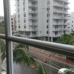 bedrm view of Collins Ave