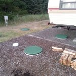 RV site over the septic system