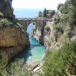 The bridge at Fiordo de Furore