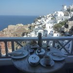 breakfast served in your private balcony
