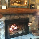 Beautiful poplar ridge home.  We made s'mores each night in our fireplace/front desk provided th