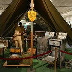 Typical WWII mess tent