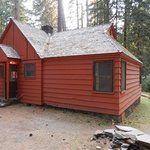 "this was called the ""premier"" location cabin"