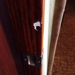 Splatters on doors - yuck!