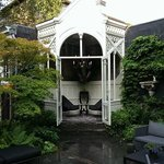 Lovely gazebo in the garden
