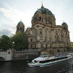 Museum on the Spree River in Central Berlin