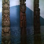 Totum poles from ancient times!  Beautiful!