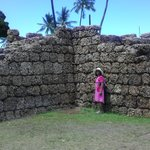 Miss Jackie at the Old Lahaina Fort