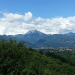 view from road to Barga