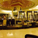 TWG at the hotel lobby