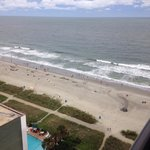 One bedroom two queen suite ocean view 16th floor facing east