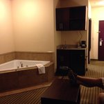 Jacuzzi Area room 201 King Suite