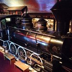 Vintage 1800 era locomotive and complete train… Walk through it! Photo by Terry Hunefeld