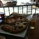 The unbeatable combination - beer and pizza