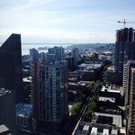 view looking NW from 35th floor