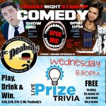 Stand Up Comedy / Open Mic & Trivia