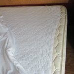 shrunken mattress pad
