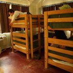 bunk beds in cabin