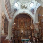 The Inside of the church itself