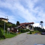 There was a small cable car station near Chalet Gabriel.