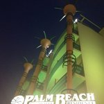 Palm beach di notte