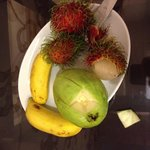Fruit upon arrival