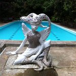 Fairies guard the pool