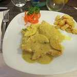 Hühnchenfilet mit Currysauce