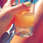Golden moons gin and juice ��