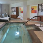 Spa/jacuzzi/women's area.
