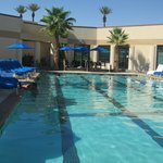The pool at the spa….the best!