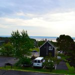 Beautiful view of the Bras d'Or Lake