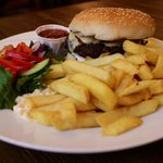 Our burgers, sourced from our local butcher