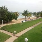 Main Beach, view from our Deluxe One Bedroom Beachfront Suite