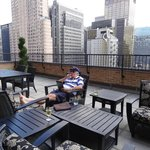 The Penthouse Terrace was a great place to relax.