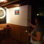Darts in the Three Tuns