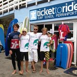 Cool dudes - grea surf experience