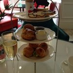 Delicious afternoon tea in The Drawing Room.