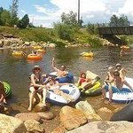 Having fun on the Yampa!