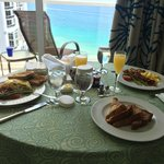 excellent breakfast room service!