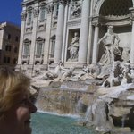 Fontana Dei Trevi, Rome, Italy at walking distance to hotel.