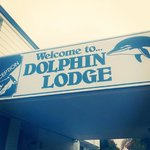 Welcome sign | Dolphin Lodge