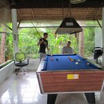 Pool Table in Reception