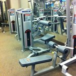 State of the art fitness machines. Always clean!