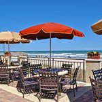 Oceanfront dining at The Oasis