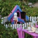 many miniature gardens to entertain little ones