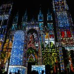 Rouen Cathedral at Night