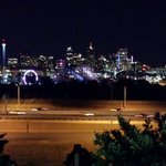 denver skyline at night.