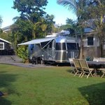 The airstream & grounds
