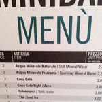 Mini bar prices.... WHAT!?